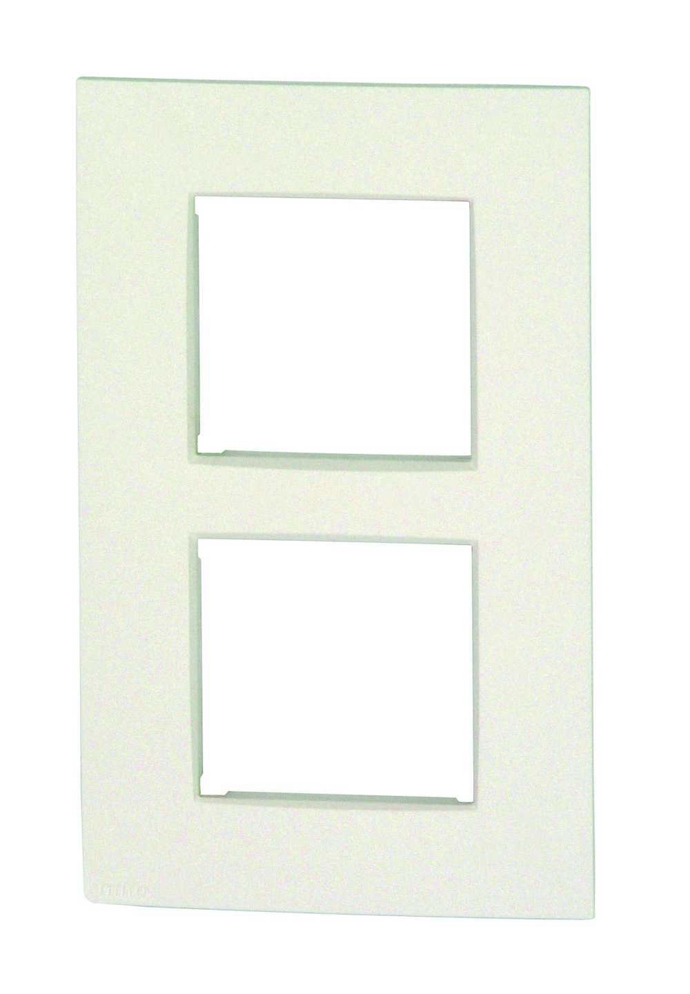 Afdekplaat 2v Vert Intense White