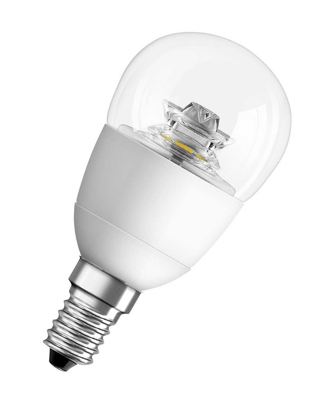 LED SUPERSTAR CL P 40 6W/827 E14 CL