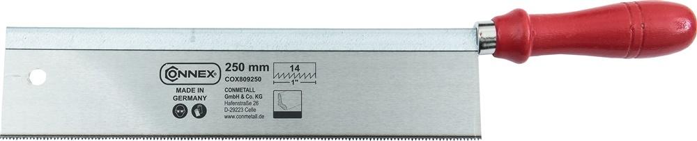 TOFFELZAAG GEHARD 250mm RECHT  HOUT