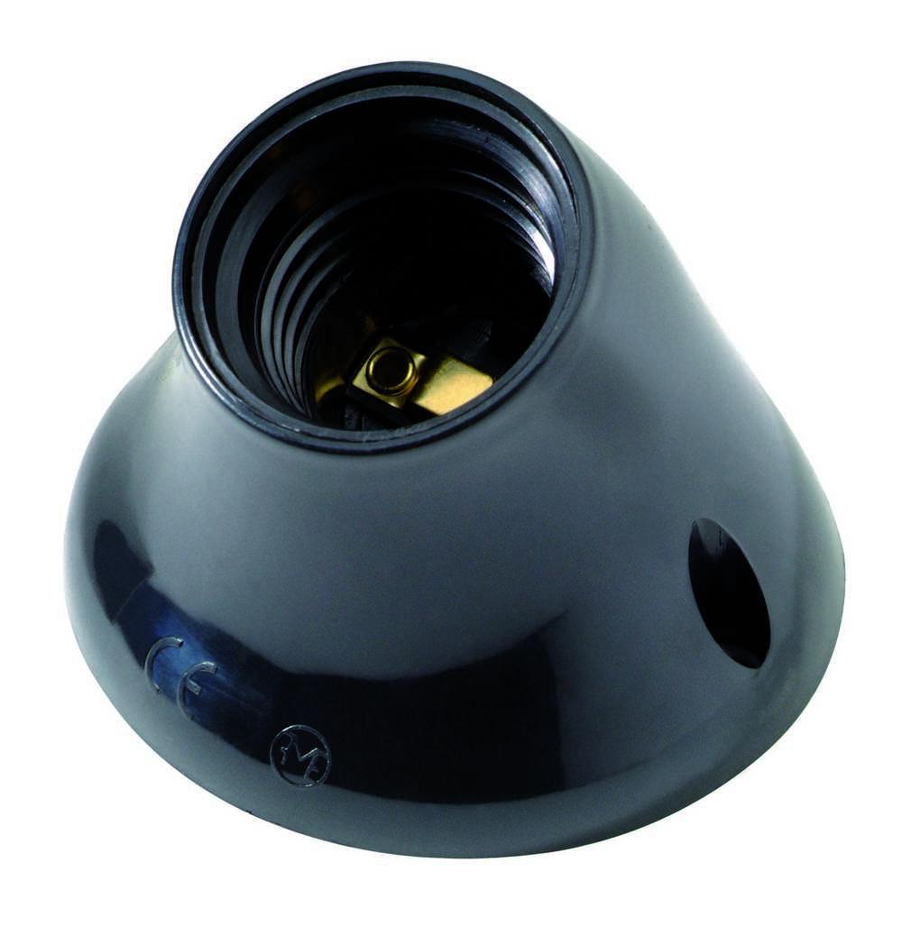 Armatuur Schuin E27 Zwart