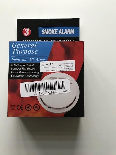 Rookmelder Optisch 3 jaar incl. batterij