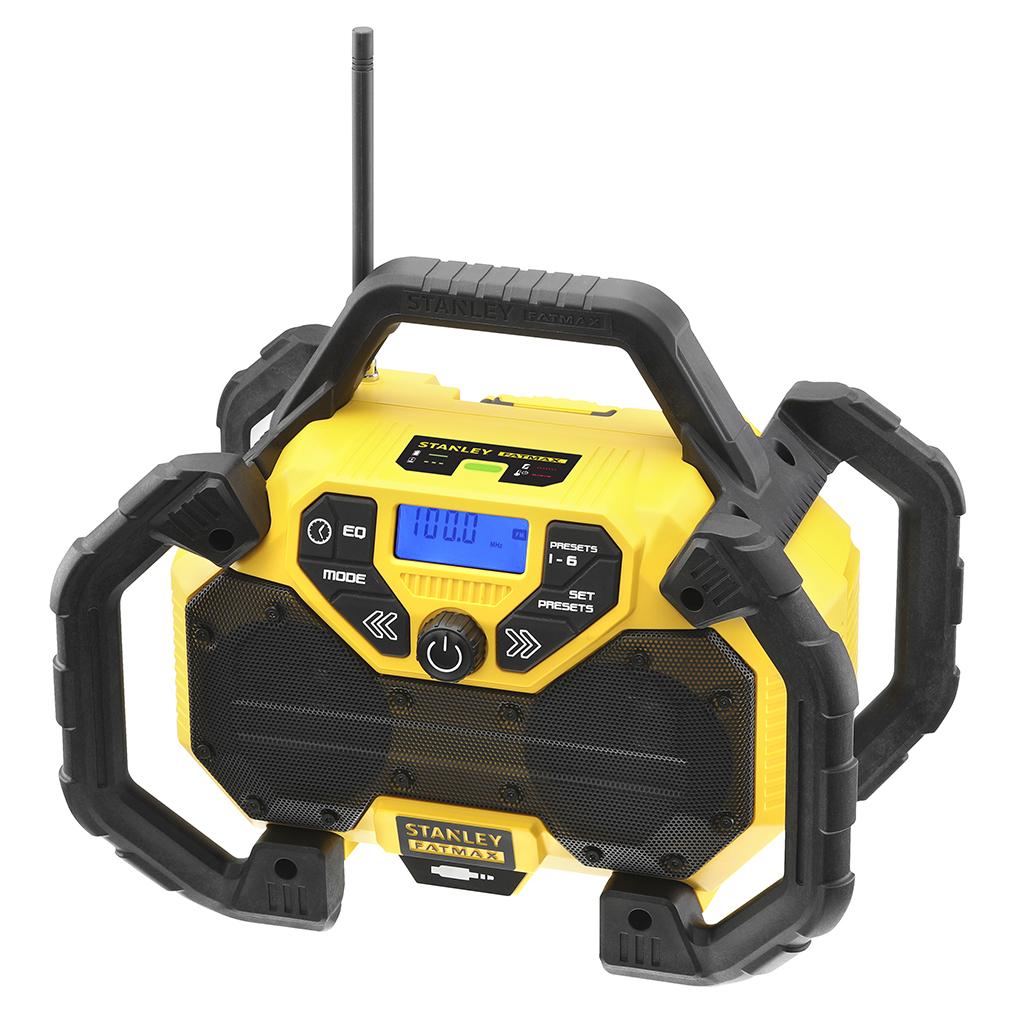 18V Radio-lader, geleverd zonder accu18V accusysteem, combi