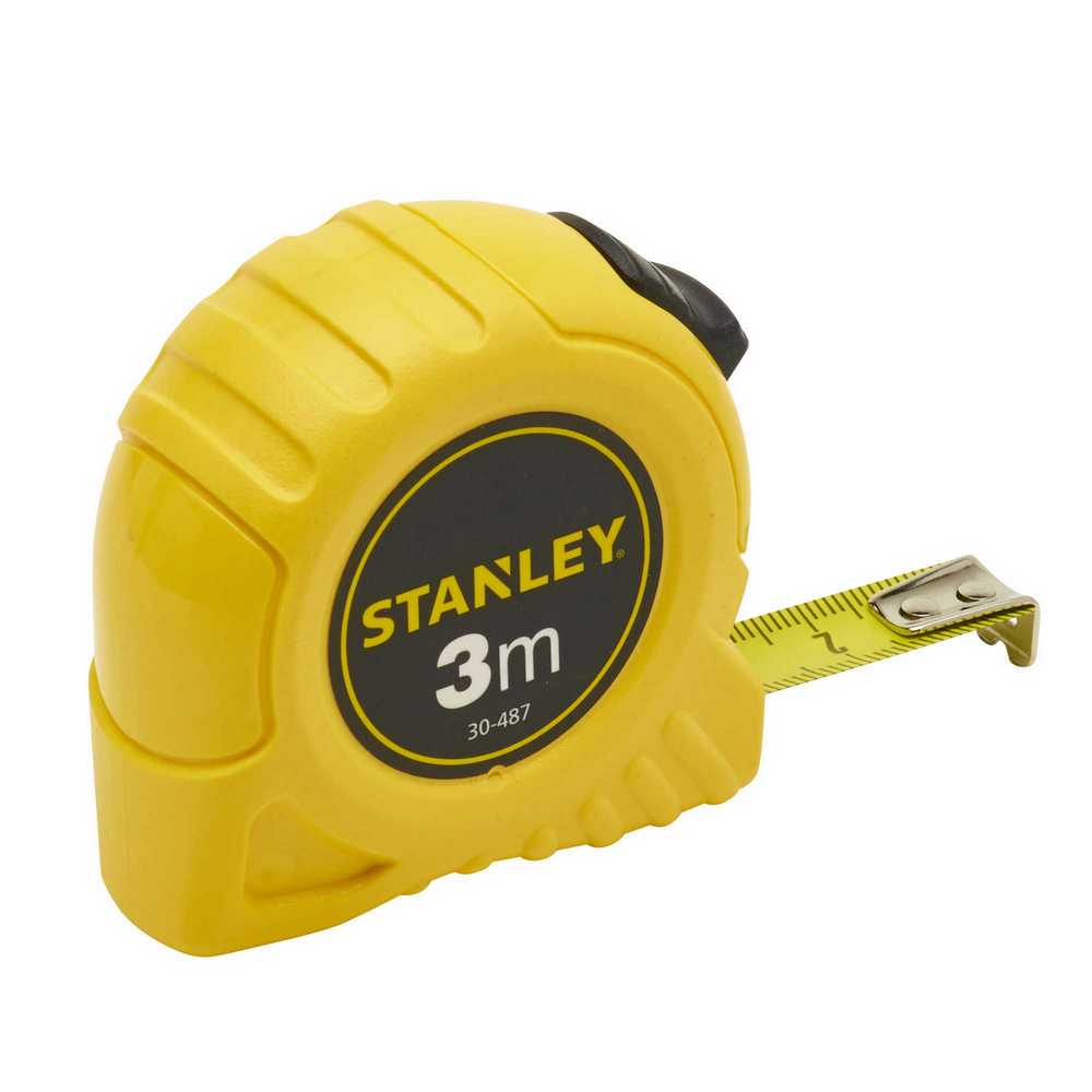 Rolbandmaat Stanley 3m - 12,7mm (kaart)
