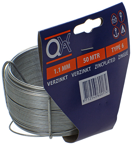 BINDDRAAD VERZ.1,1MM QX N.6