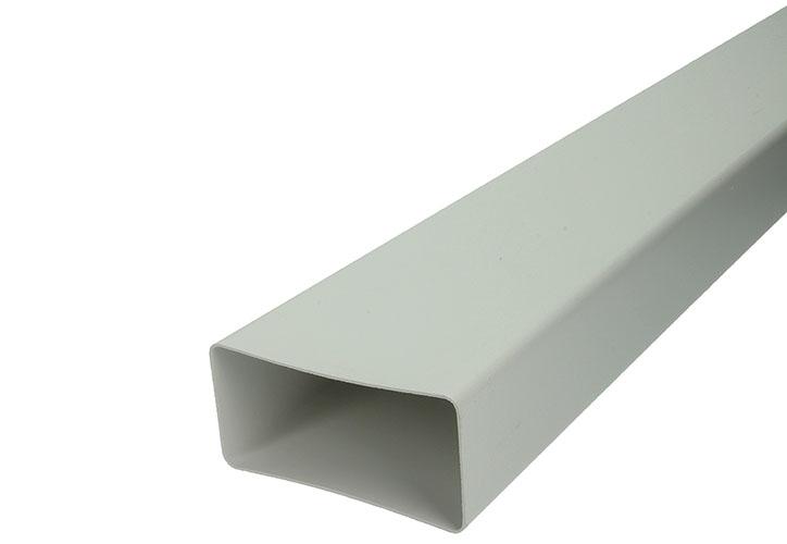 PVC BUISSTUK 1M  7028         WIT 110X55MM