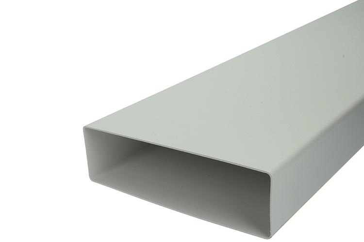 PVC BUISSTUK 1M  7028         WIT 204X60MM