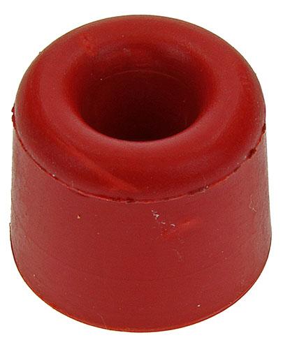 2St Rubber Deurstop Rood 30X25Mm