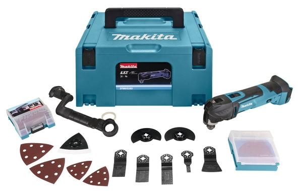 Makita Accu multitool LXT 18V + Makpac + acc (zonder accu's