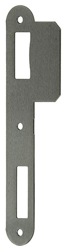 1 VLAKKE SLUITPLAAT INOX SER90  R/L