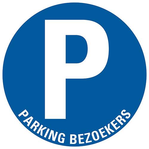 PU SYMB.30CM PARKING BEZOEKERS