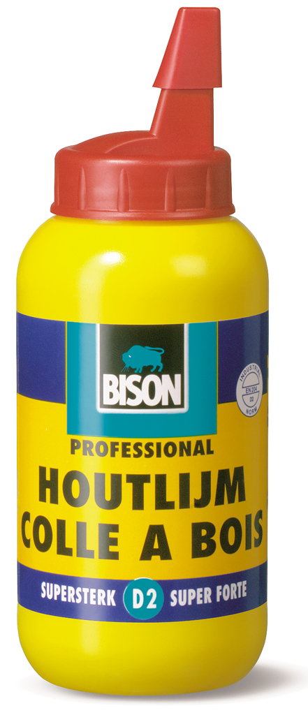 Bison Houtlijm (D2) 250 g flacon