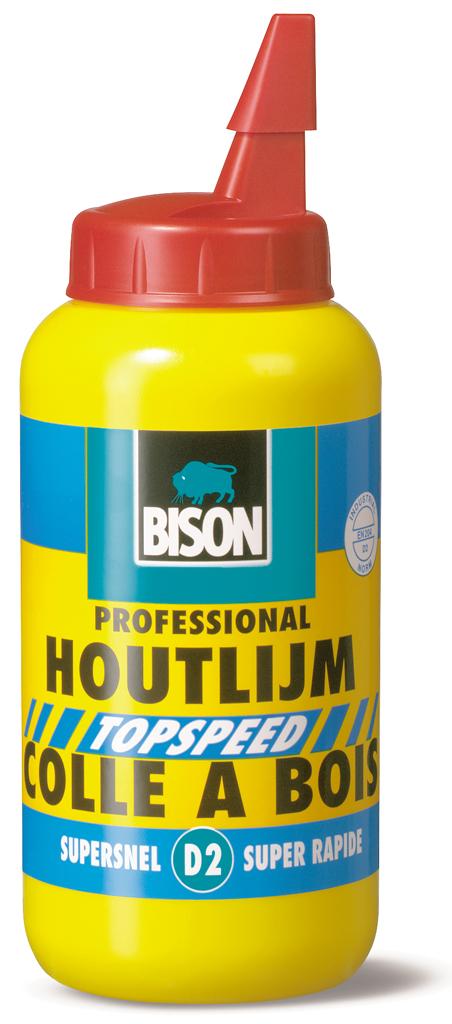 Bison Houtlijm Topspeed (D2) 750 g flacon