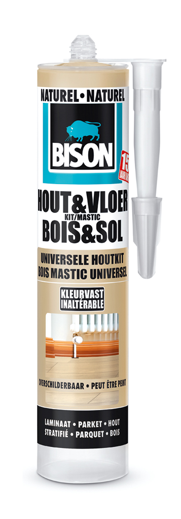 Bison Hout&Vloer Naturel 300 ml koker