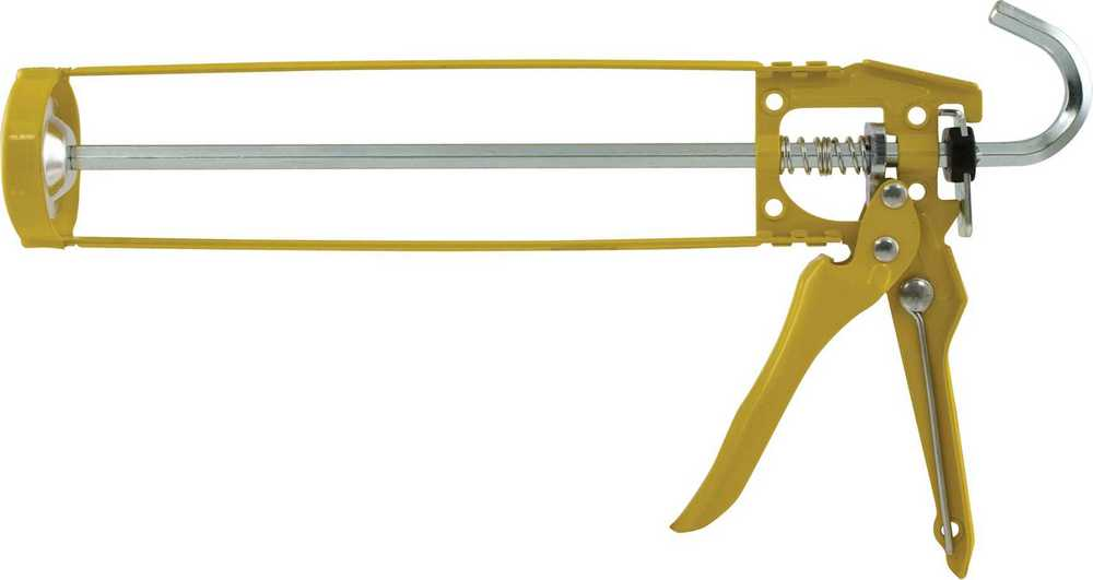 PISTOOL  skelet geel metal - st/pc