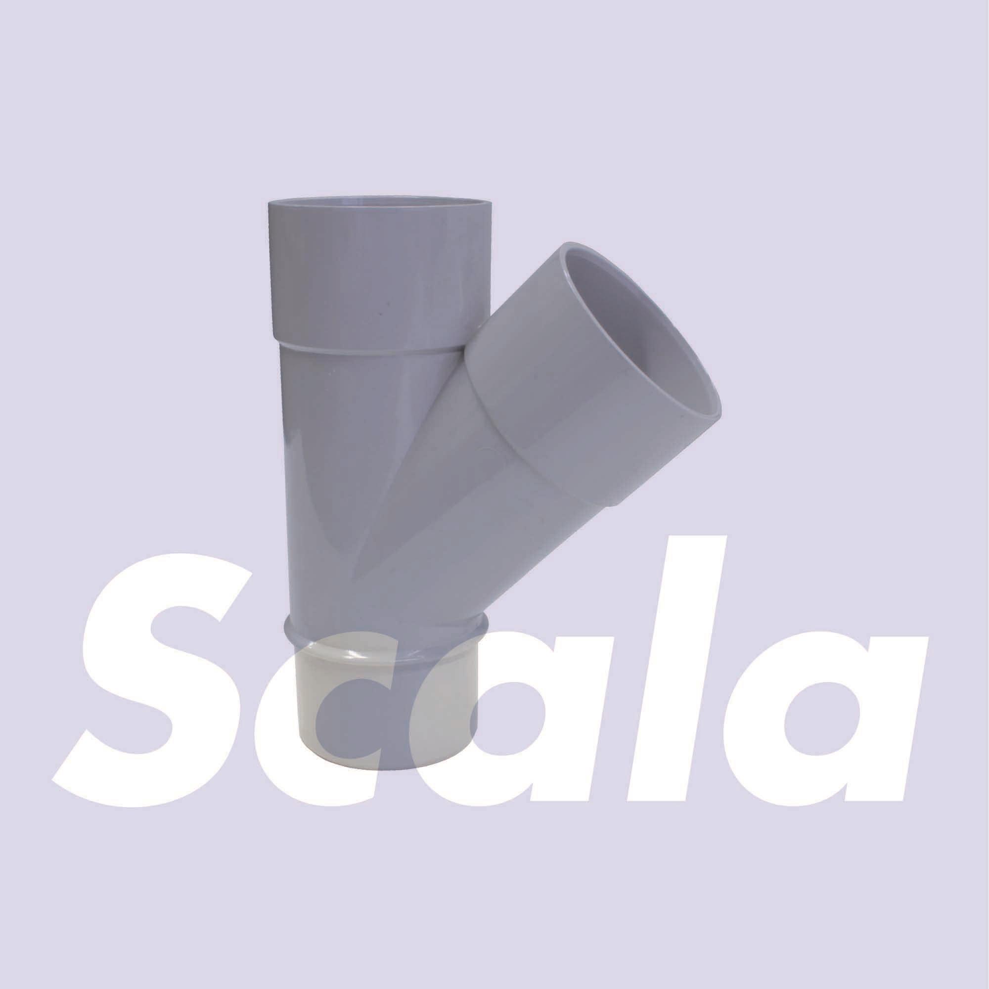 RWA T-STUK  50/45'    LICHTGRIJS