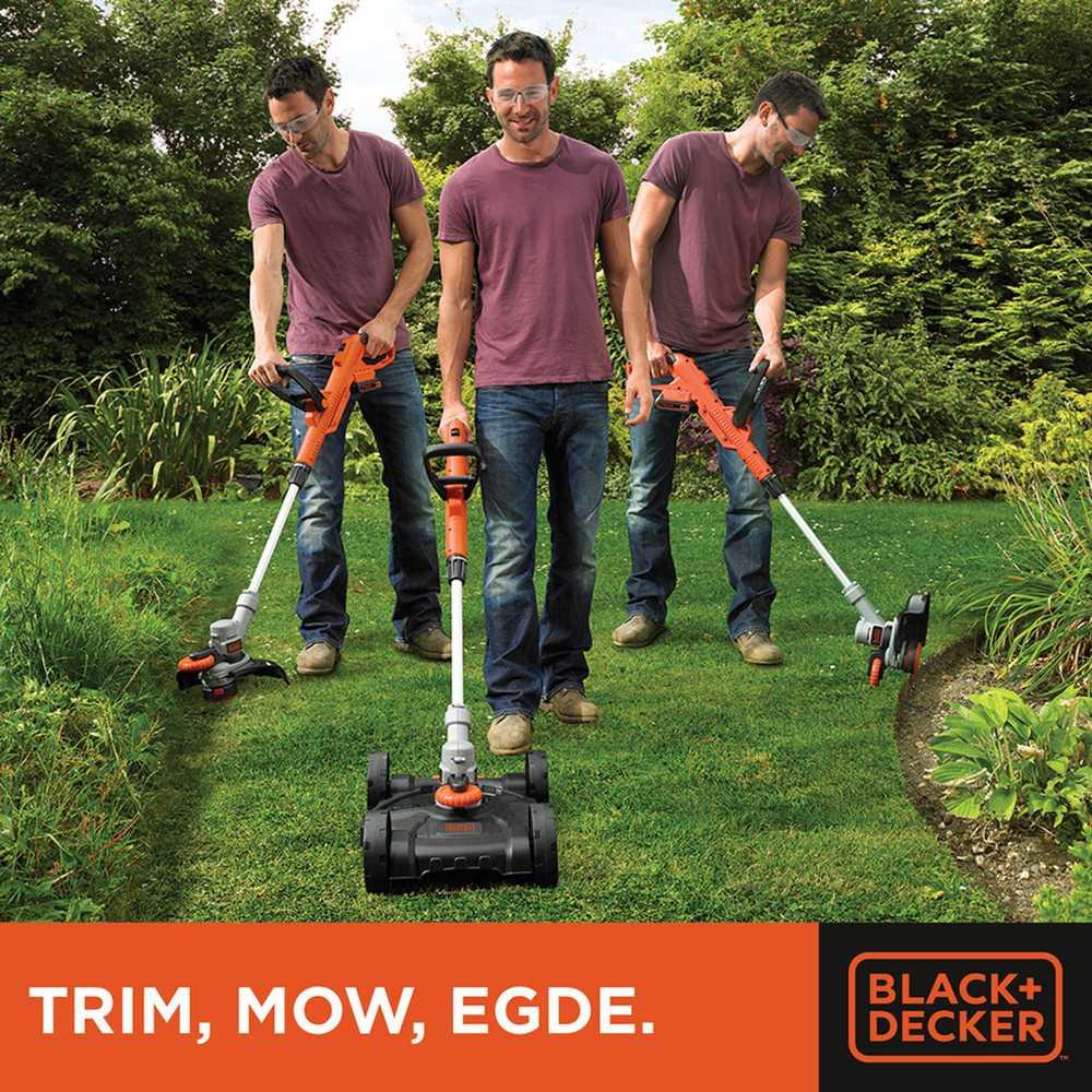 3-in-1: Strim-mow-edge, 550w, 30cm snijbreedte,st5530cm-qs