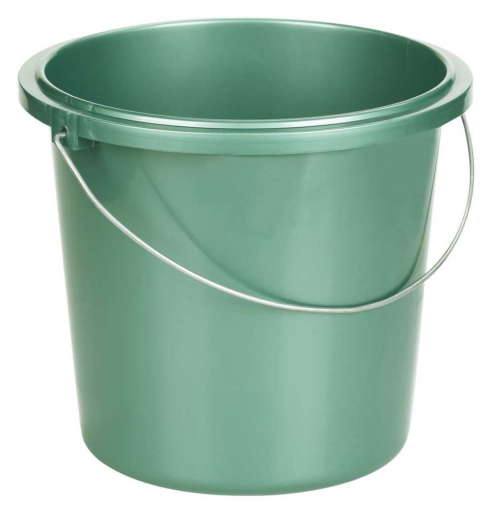 emmer 13L metalic groen