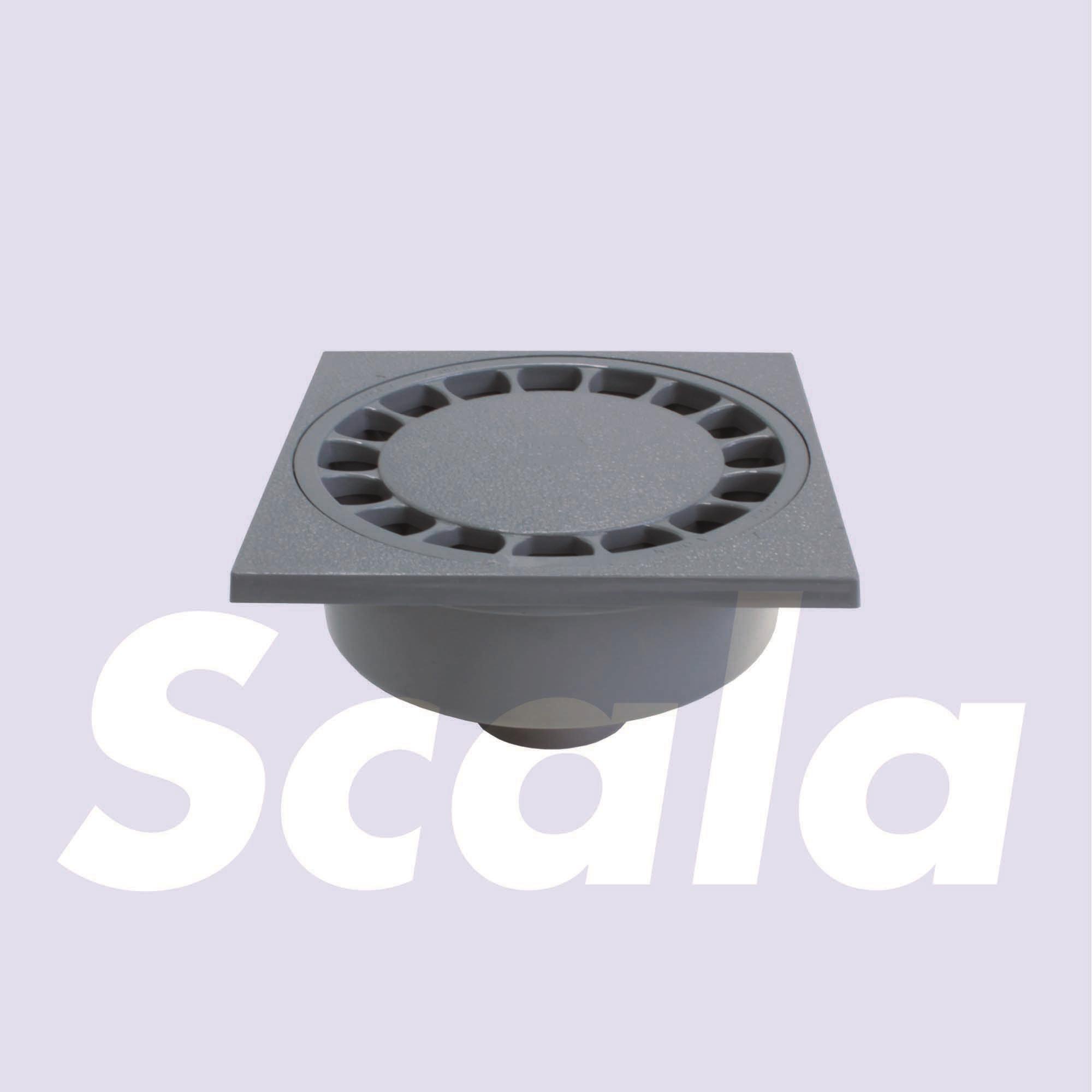 KLOKR.PVC100X100/32-40 LOCK D.GR