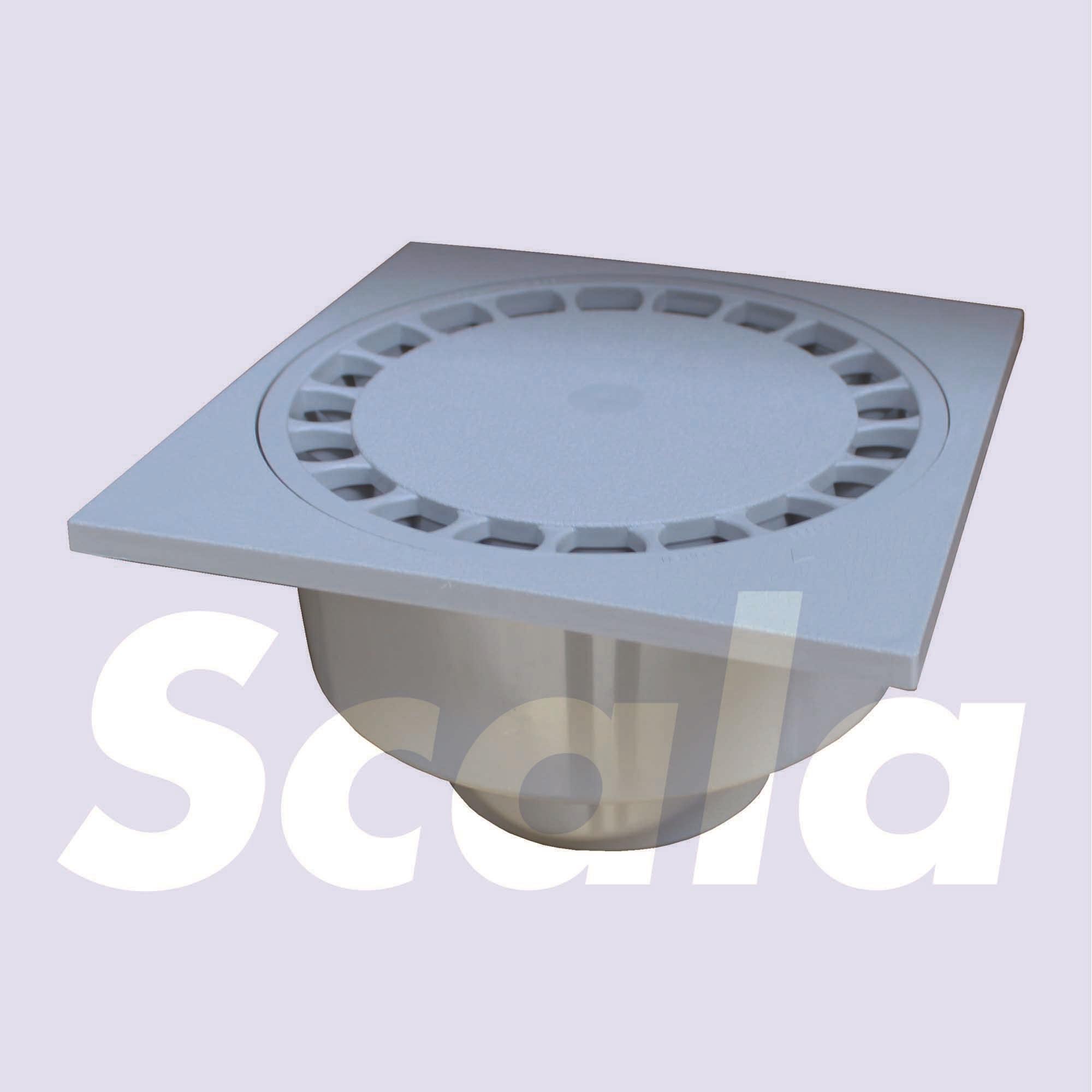 KLOKR.PVC150X150/40-50 LOCK L.GR