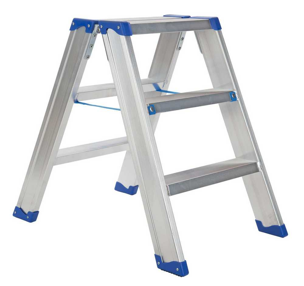 IND. DUBBELE TRAPLADDER SPARTA DUO 2X3TR