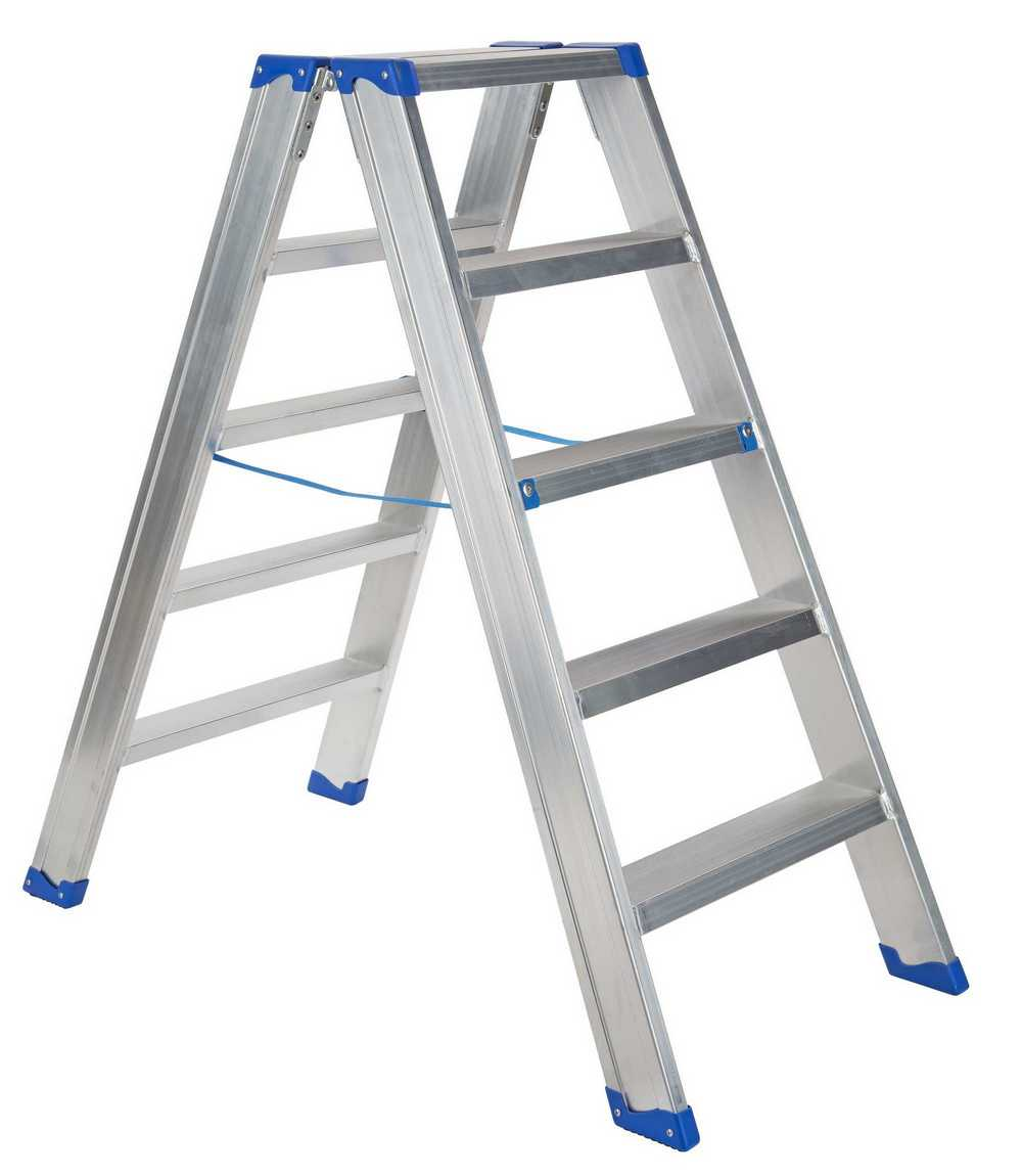IND. DUBBELE TRAPLADDER SPARTA DUO 2X5TR