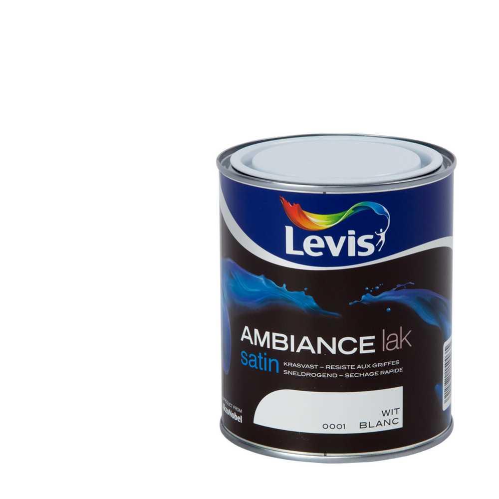 AMBIANCE LAK SATIN - WIT 1 0,75L