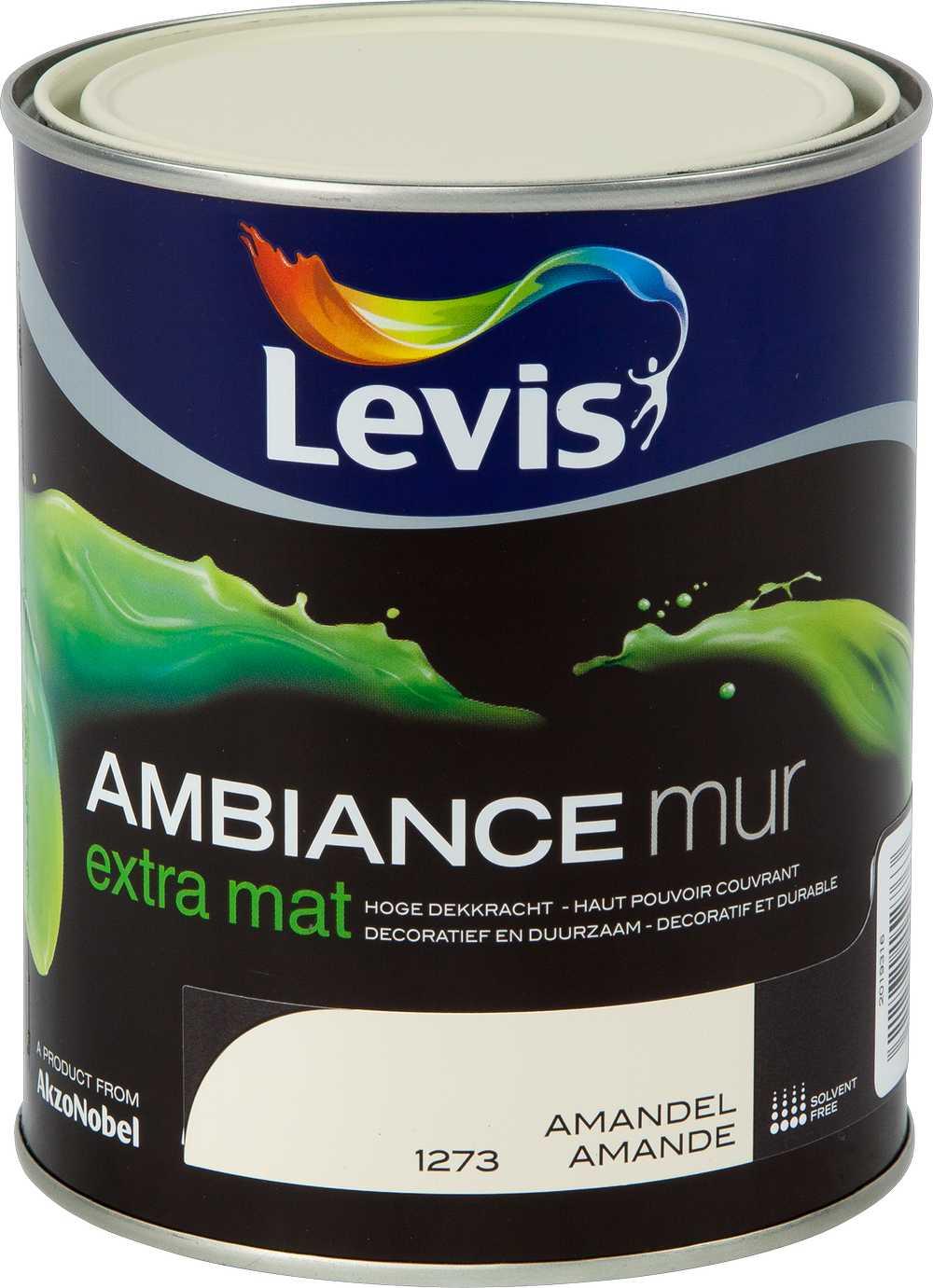 AMBIANCE MUR EXTRA MAT - AMANDEL 1273 1 L