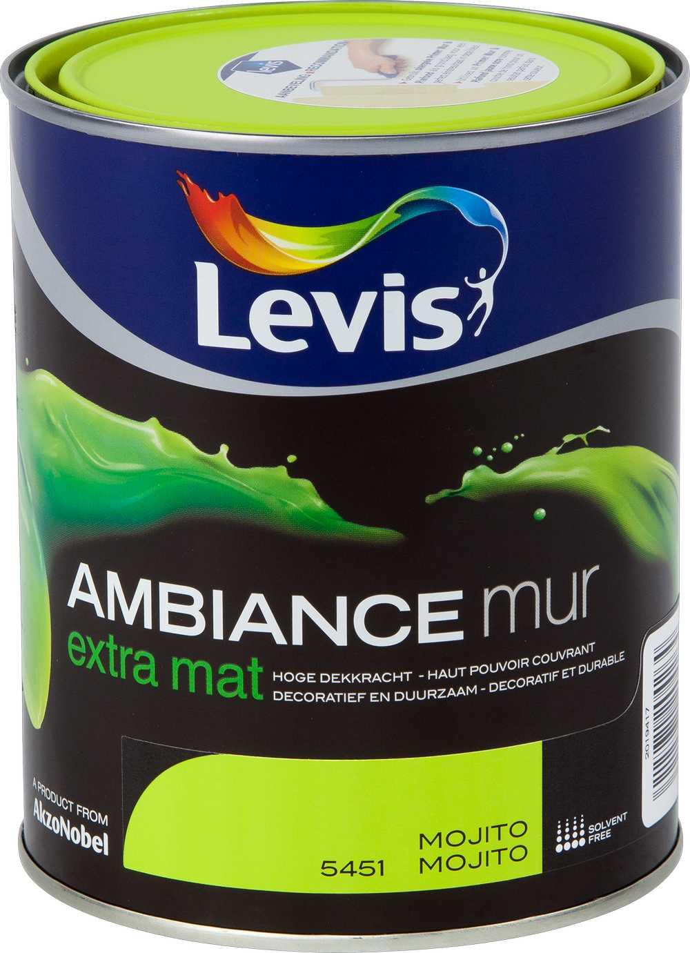 AMBIANCE MUR EXTRA MAT - MOJITO 5451 1 L