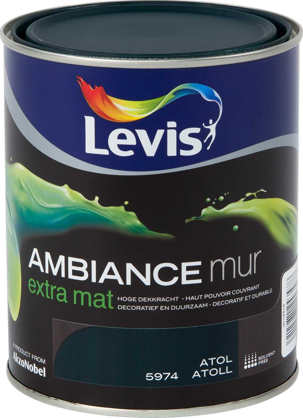 AMBIANCE MUR EXTRA MAT - ATOL 5974 1 L