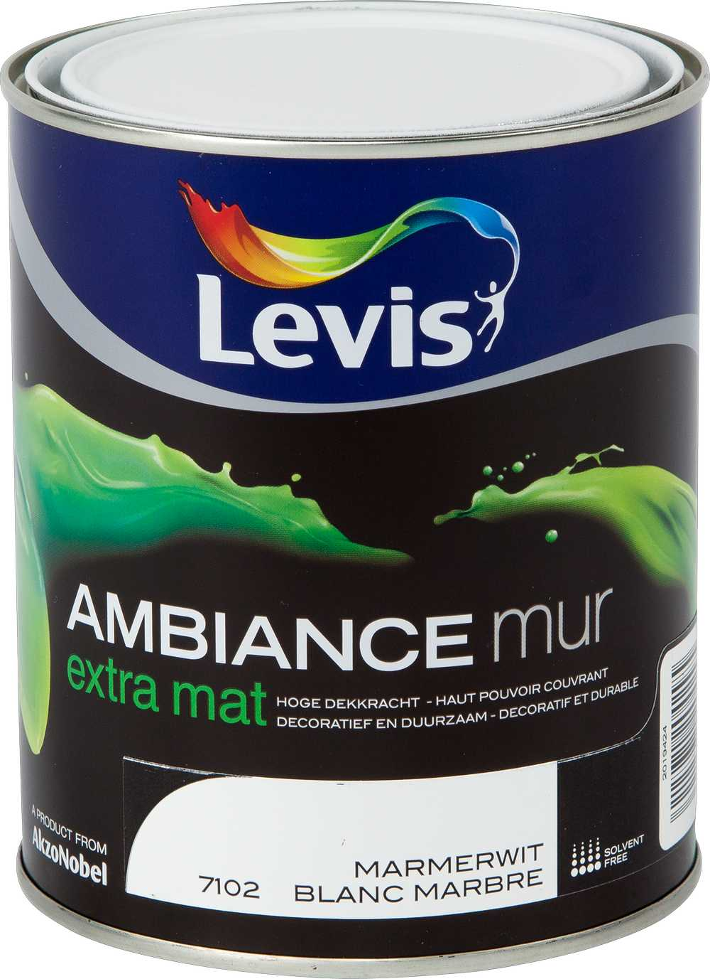 AMBIANCE MUR EXTRA MAT - MARMERWIT 7102 1 L