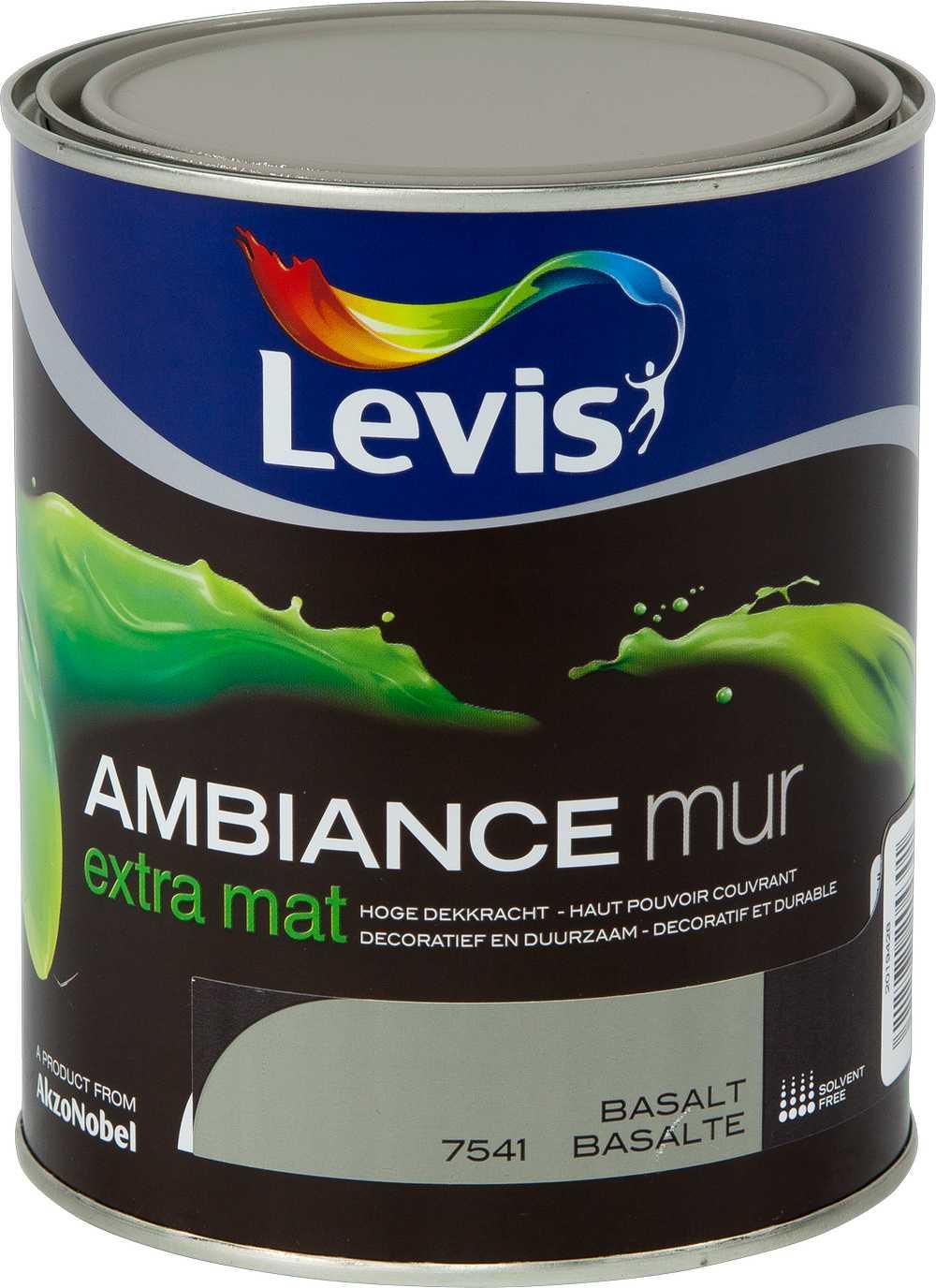 AMBIANCE MUR EXTRA MAT - BASALT 7541 1 L