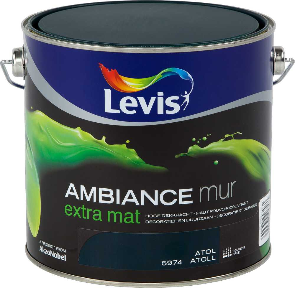 AMBIANCE MUR EXTRA MAT - ATOL 5974 2,5 L