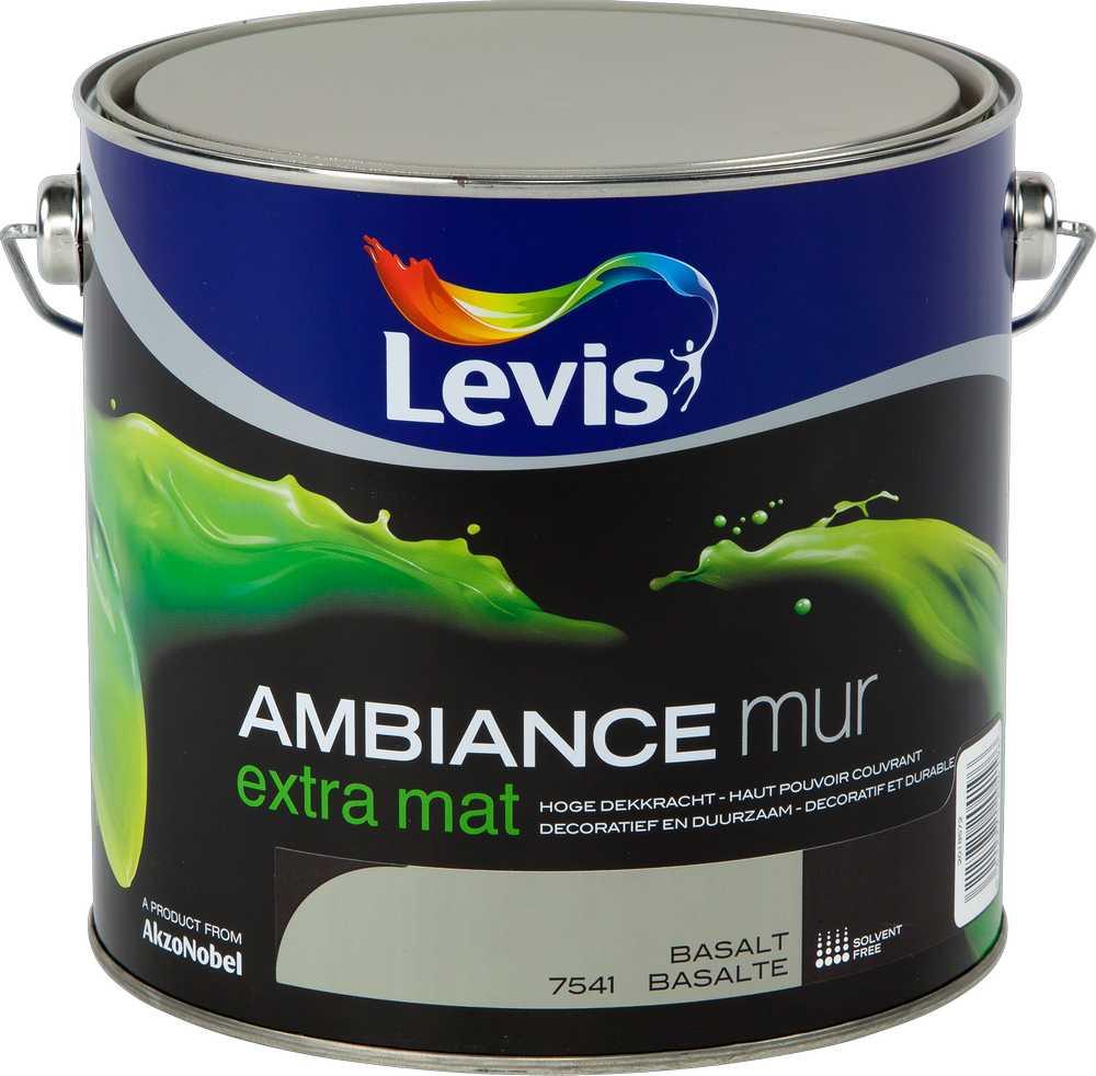 AMBIANCE MUR EXTRA MAT - BASALT 7541 2,5 L