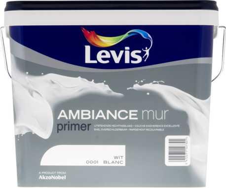 LEVIS AMBIANCE MURPRIMER WIT  5 L