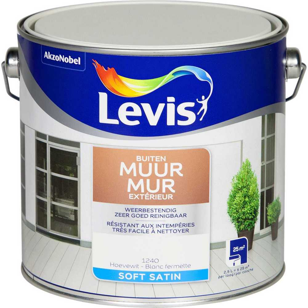 LV  MUUR BUITEN-2,5L-HOEVEWIT 1240