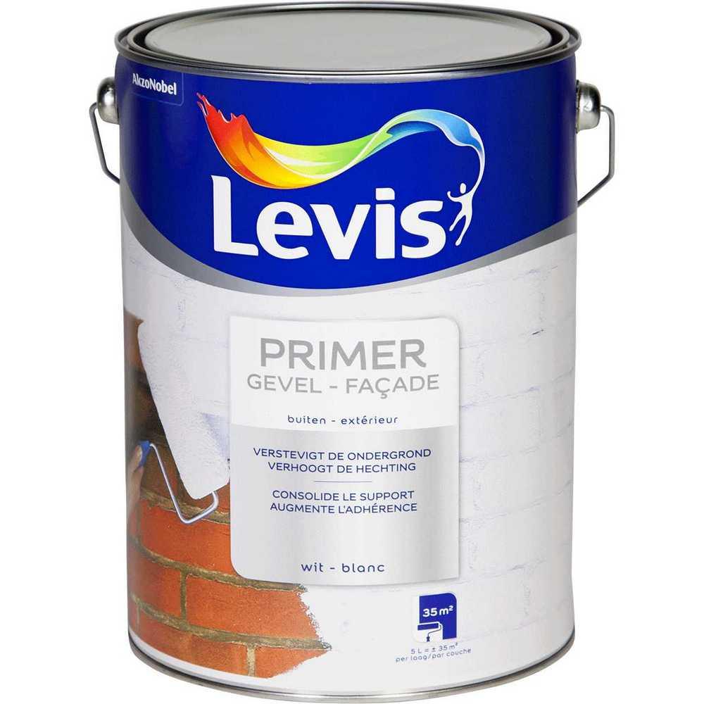 LEVIS PRIMER GEVEL WIT  5 L