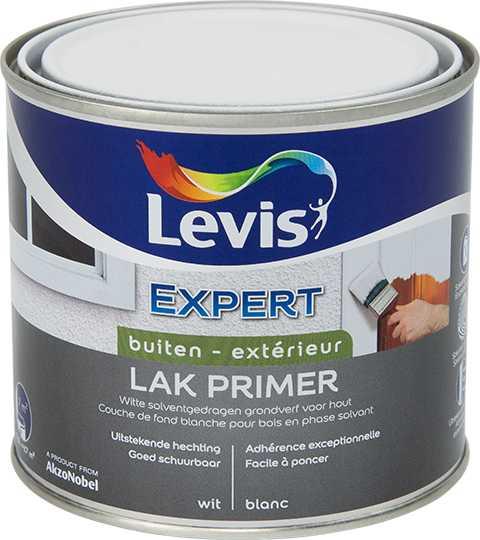 LAK EXPERT PRIMER BUITEN - WIT  0,5 L