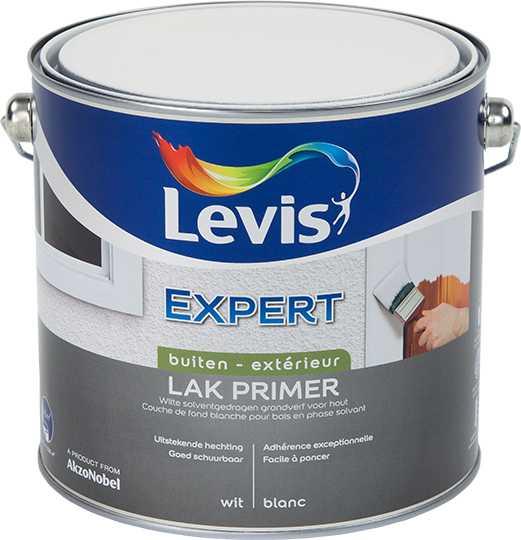 LAK EXPERT PRIMER BUITEN - WIT  2,5L