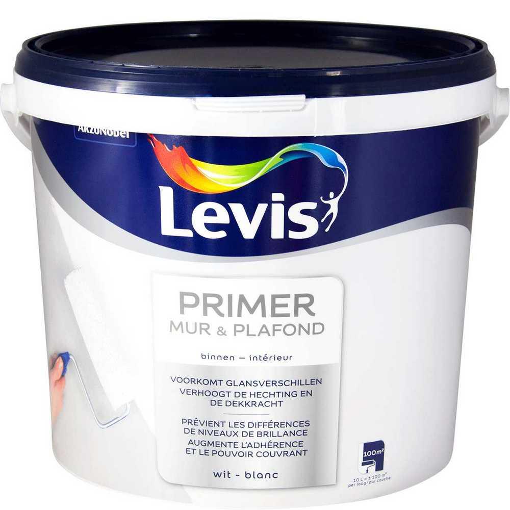 LEVIS PRIMER MUR & PLAFOND  10 L