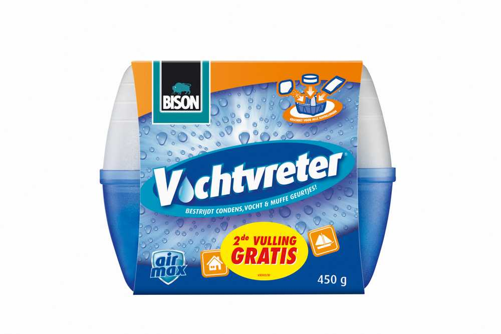VOCHTVRETER APP 450GR+2e VULLING 1494618