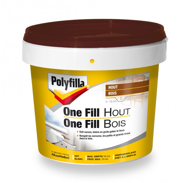 PF ONE FILL HOUT  0,5KG