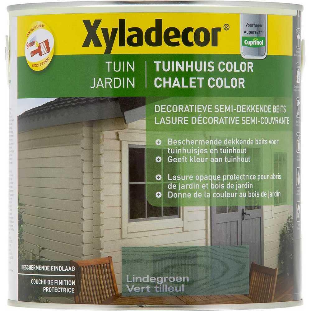 XY TUINHUIS COLOR-LINDEGROEN  2.5L